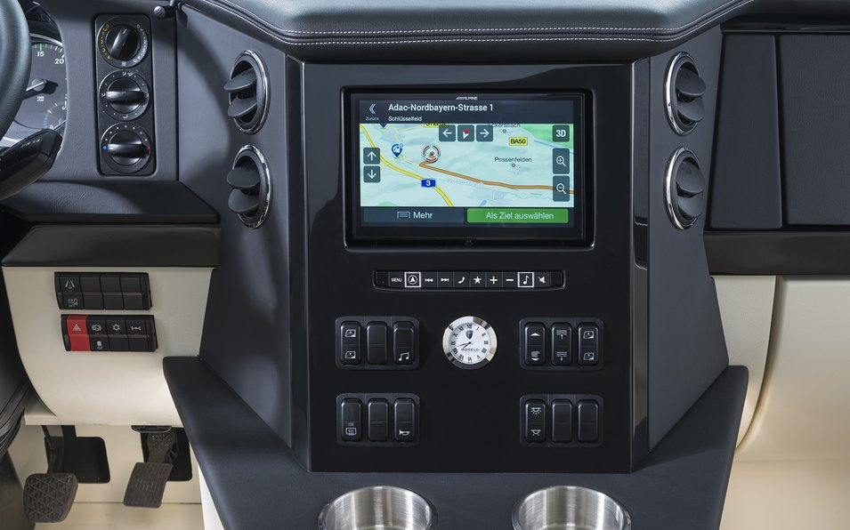 MORELO EMPIRE Line Detail navigation system